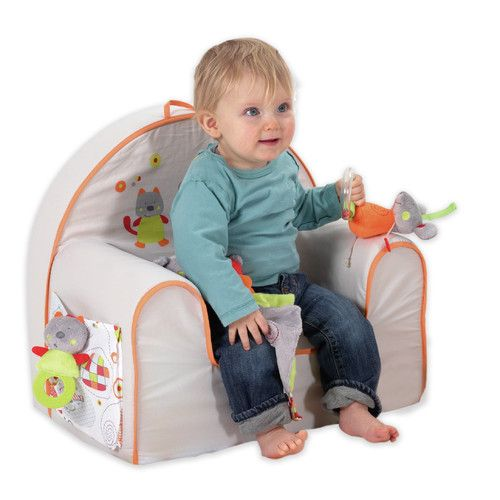 Found it at Wayfair - Toddler Padded ArmChair