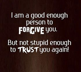I AM GOOD ENOUGH PERSON...