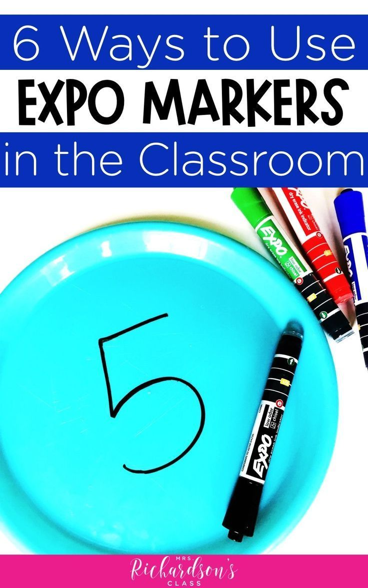 6 Ways To Use Expo Markers In The Classroom Mrs Richardson S Class Expo Marker Classroom Diy Classroom