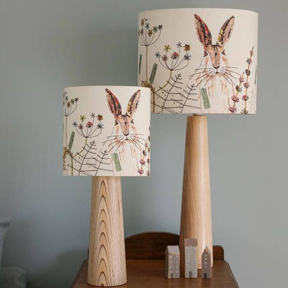 Hare Lampshade by Jo Hill