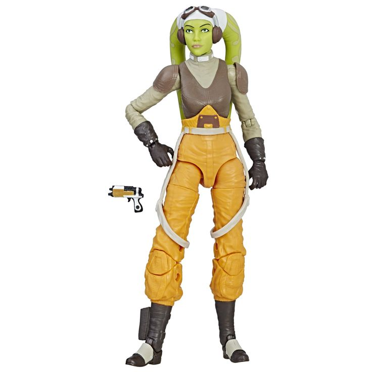 Star Wars Rebels The Black Series Hera Syndulla, 6-inch. Detailed 6-inch Hera Syndulla figure from Star Wars Rebels. Includes character-inspired accessory. Expand and enhance Star Wars collection (Additional products sold separately). Includes figure and accessory.