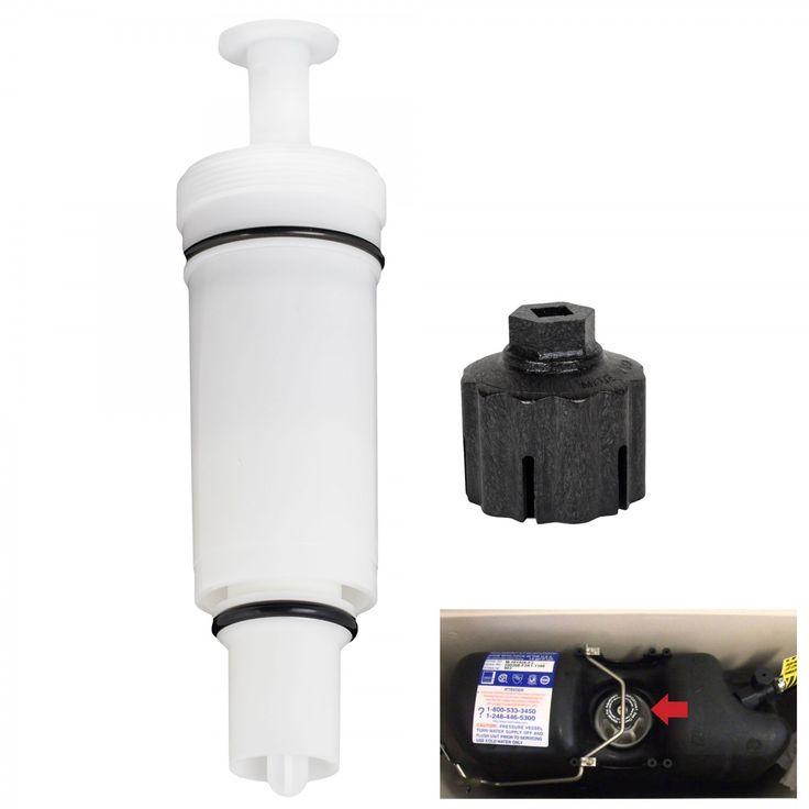 FlushLine Sloan C-100500-K Flushmate Flush Valve Cartridge Assembly and Removal Wrench – Toilet Repair Parts – Plumbing Repair – Tools & Repair - GreyDock.com