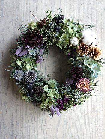 Beautiful wreath!