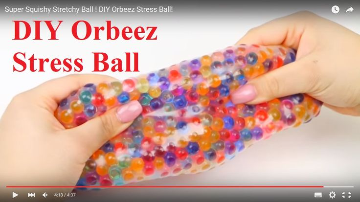 diy orbeez stress ball orbeez pinterest diy and crafts stress and stress ball. Black Bedroom Furniture Sets. Home Design Ideas