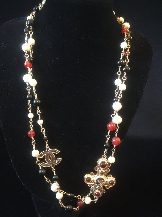 Vintage Chanel Necklace Chanel Necklace Gorgeous Jewelry
