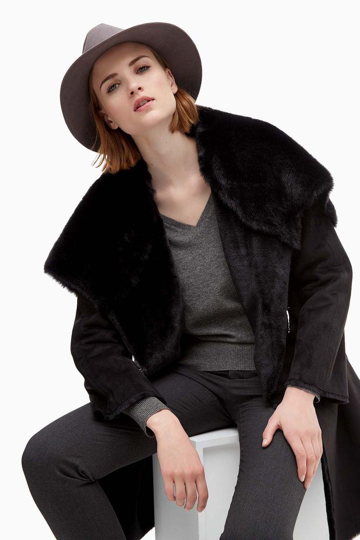 17 best images about clothes on pinterest coats crepe for Adolfo dominguez womens coats