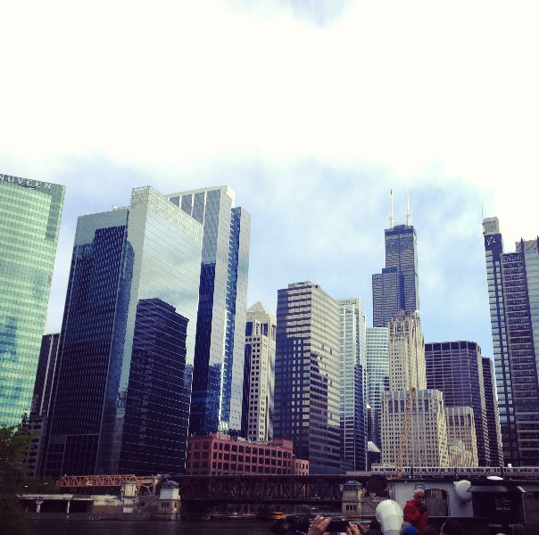 Daytime on the Chicago River