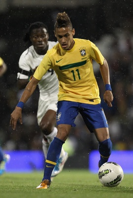 Can't wait to watch this kid in the world cup. Neymar, the new king of samba