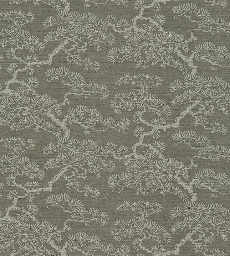Interior Trends, Oriental Bloom | Keros Wallpaper by Sanderson | Jane Clayton