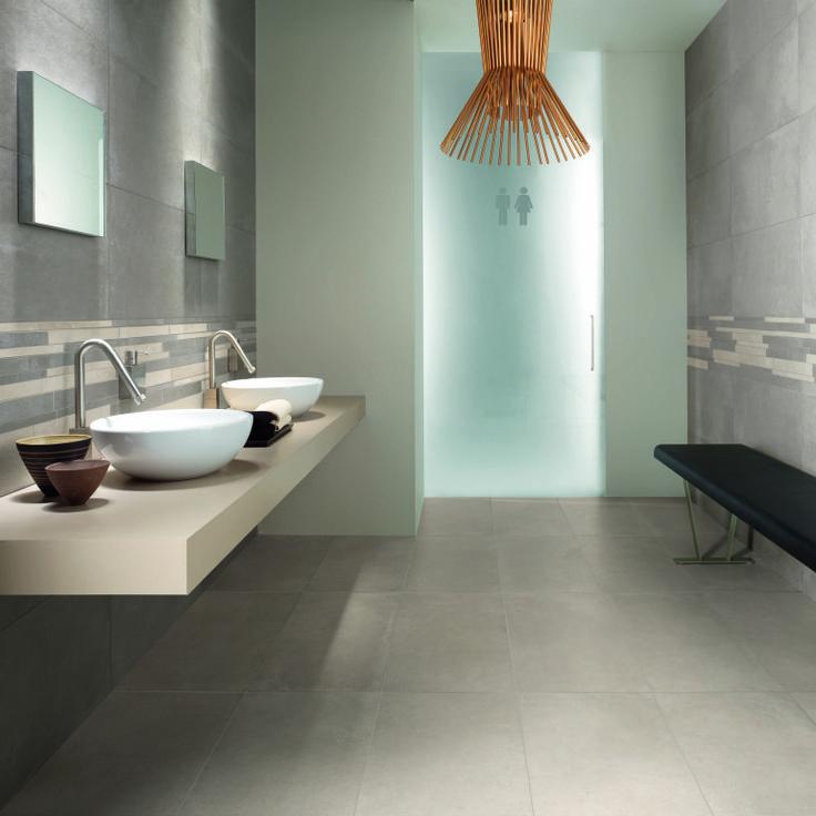Docks Concrete Effect. Modern BathroomsModern Bathroom TileBathroom ...