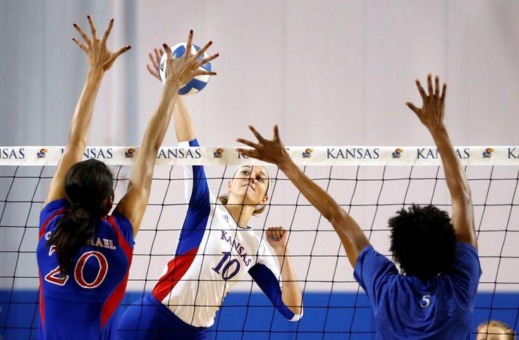 University of Kansas Athletics - Alumni Greats Make for Great Crimson and Blue Match