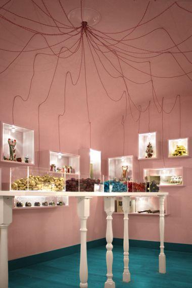I love chocolate Chocolate shop Calaci&Bergher architetti