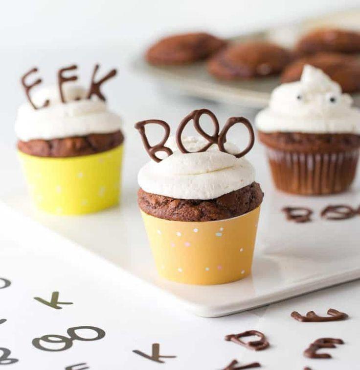 Edible Chocolate Halloween Cupcake Topper | Halloween ...