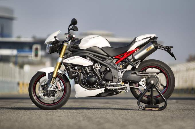 Triumph 1050 Speed Triple R $14,700. http://news.moto-journal.fr/wp-content/gallery/triumph-speedtriple-r-1050-2012/triumph-speedtriple-r-1050-2012-17.jpg.  The fastest And Most Extreme Streetfighter Motorcycles In The World - Gleems