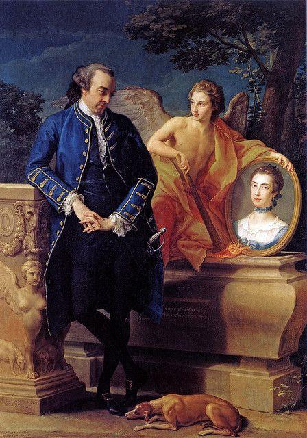 Portrait of Wills Hill. 1766 by Pompeo Batoni (Italian 1708–1787)