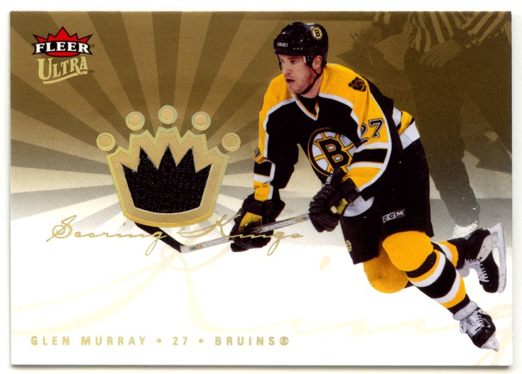 Glen Murray # SKJ-GM - 2005-06 Fleer Ultra Hockey Scoring Kings - NHL Jerseys