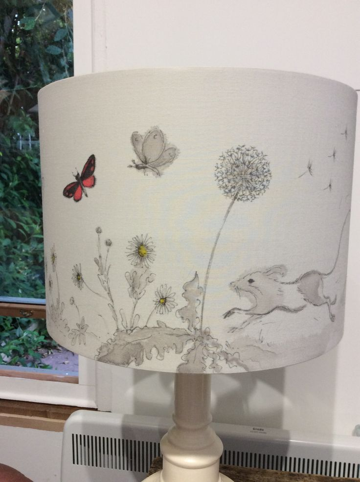 Pin By Leila Winslade On Hand Painted Lampshades Pottery