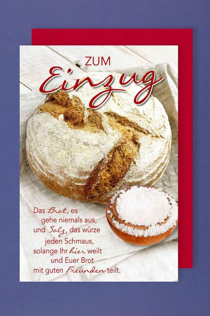 Bildergebnis Fur Brot Und Salz Zum Einzug Spruch Spruche Diy Und