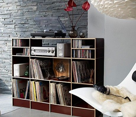 die besten 25 lp regal ideen auf pinterest vinyl plattenregal hifi regal f r plattenspieler. Black Bedroom Furniture Sets. Home Design Ideas