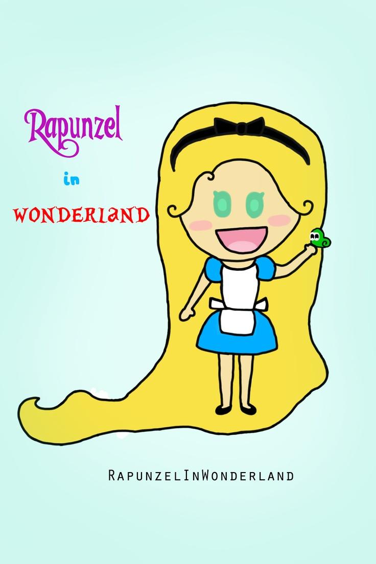Rapunzel In Wonderland