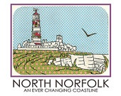 North Norfolk Travel-Style Poster