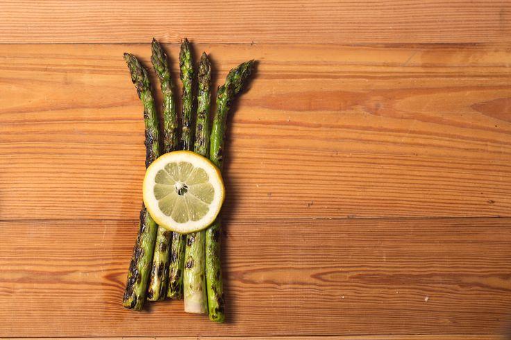 Grilled Asparagus (April - June)