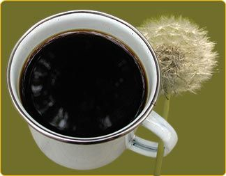 """Roasted Dandelion Root """"Coffee"""".  When brewed properly, dandelion root coffee closely resembles the rich flavor of traditional coffee, and it contains a wealth of vitamins and minerals."""