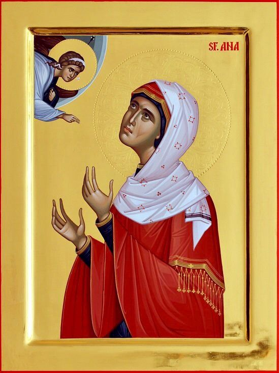 St. Anna by Ursutz Gabriel of Romania