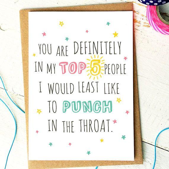 25+ Best Best Friend Cards Ideas On Pinterest