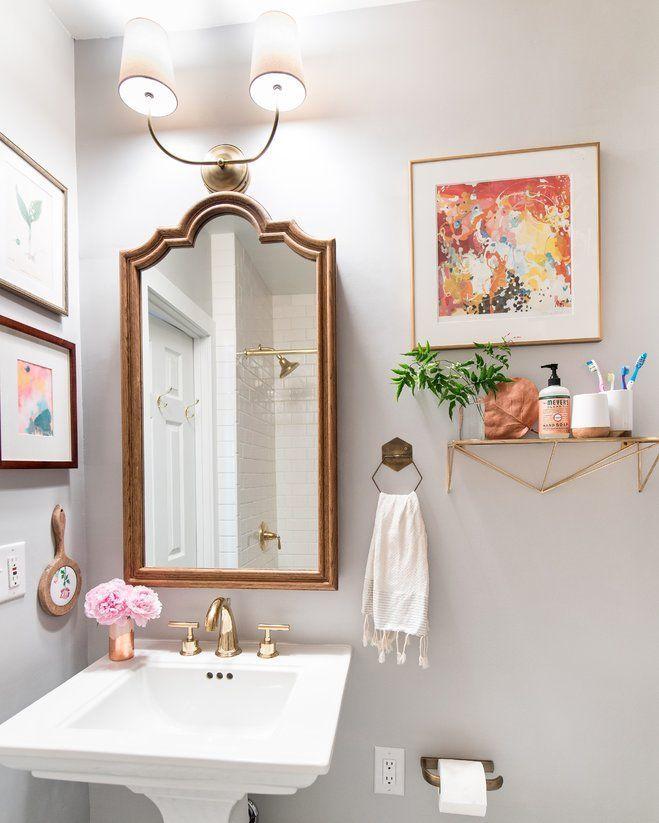 Fixing Water Leaking From Upstairs Bathroom To Downstairs 101 Bohemian Bathroom Windowless Bathroom Eclectic Bathroom Design