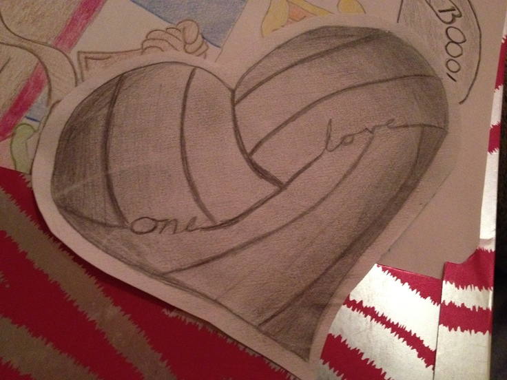 Volleyball Tattoo Idea, this would be amazing!! If I ever decide to do a tat - this will be it.