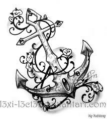 girly anchor tattoo pictures google search tat ideas pinterest anchor tattoos anchors. Black Bedroom Furniture Sets. Home Design Ideas