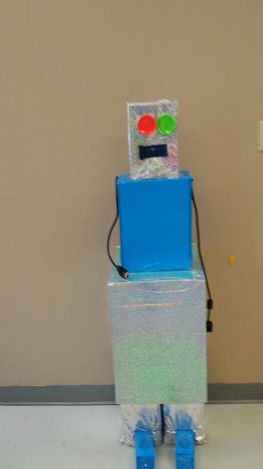 Robot from Boxes