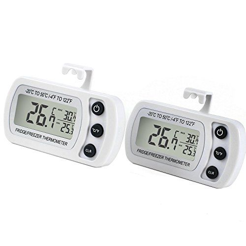 Digitales K�hlschrankthermometer wasserabweisend Gefrierschrankthermometer f�r Gefrierschrank, K�hlschrank, Tiefk�hltruhe, Weink�hlschrank, Minibar usw.