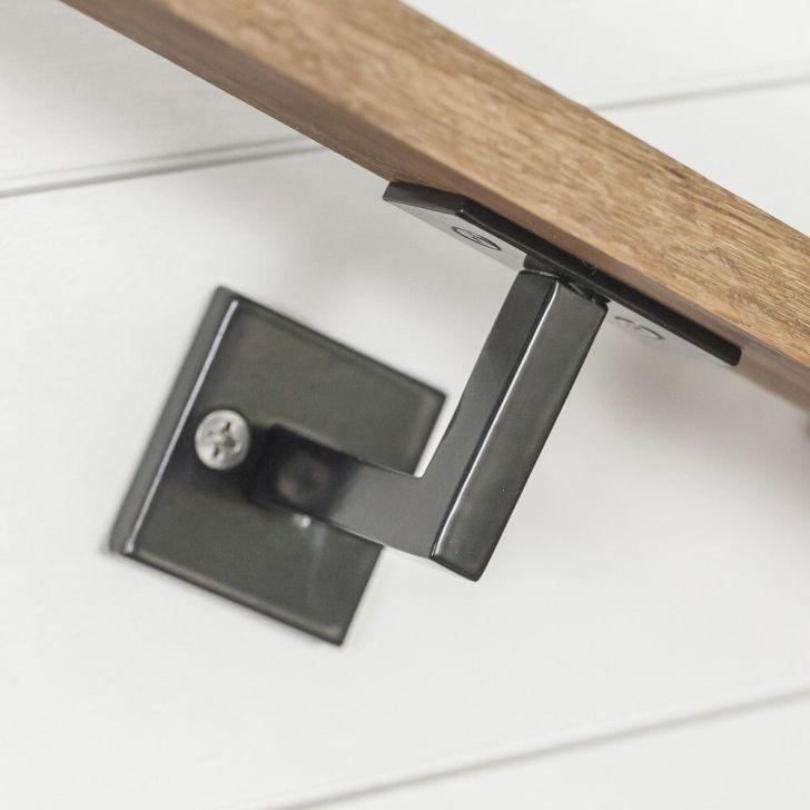 Unbelievable Minimal Handrail Bracket Image Of Brushed Nickel Styles And Popular Handrail Brackets Handrail Step Railing