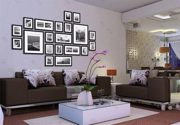 (EU Lager)Versandkostenfrei Bilderrahmen Collage Fotogalerie-20er Set Weiß