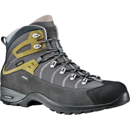 An excellent choice for hiking and backpacking in warmer summer months, the Asolo Men's Mustang GV Hiking Boot delivers the support and stability of a high-top design combined with the waterproof/breathable protection of a Gore-Tex Extended Comfort membrane. Differing from traditional Gore-Tex membranes, Gore-Tex Extended Comfort maximizes breathability and sweat dispersion with its non-insulated construction.