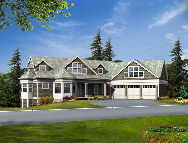 House Plan 341 00285   Mountain Plan: 3,886 Square Feet, 3 Bedrooms, 2.5  Bathrooms