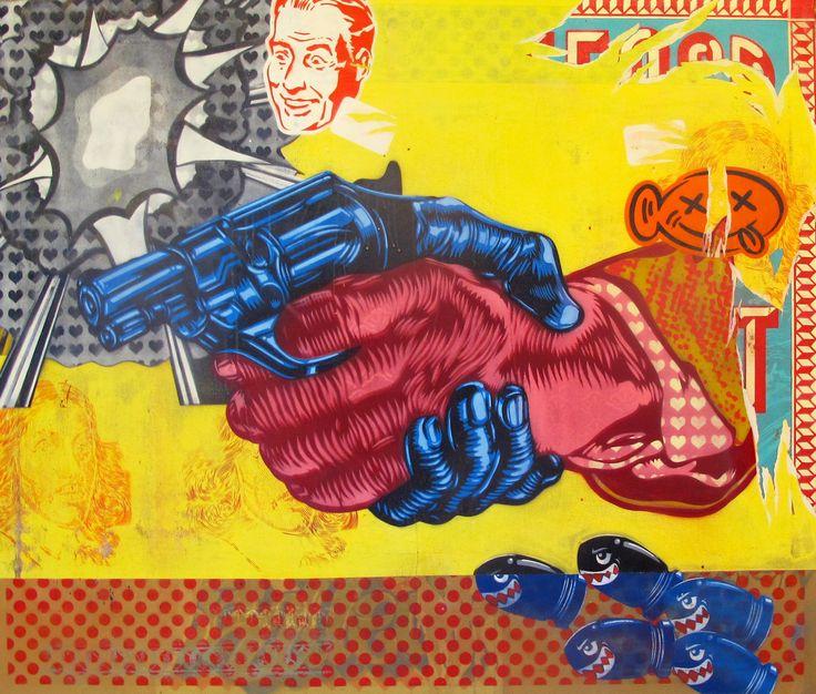 """""""Gun Shake"""" Khaya Witbooi. 2017"""