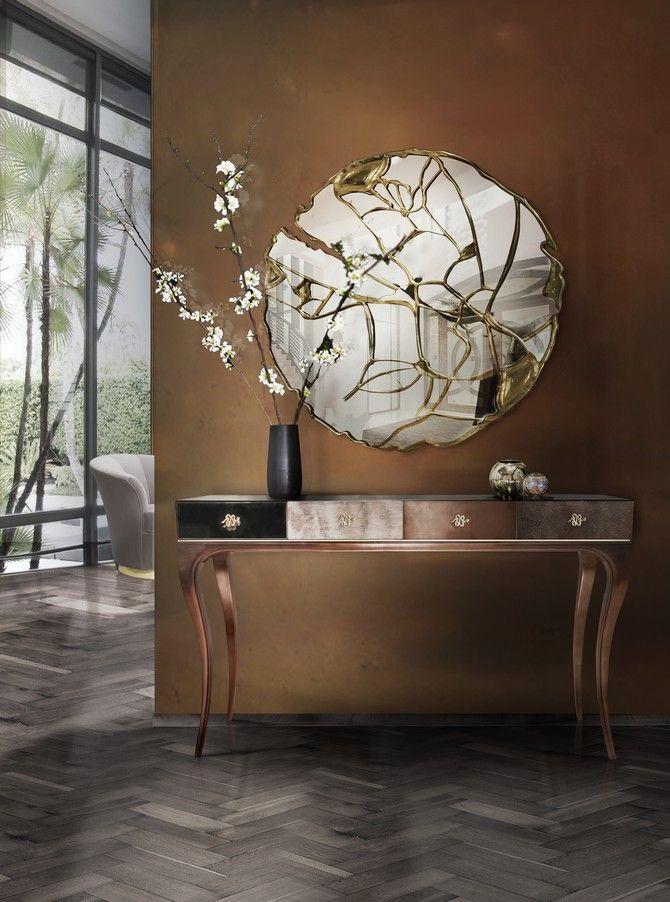 10 Amazing modern interior design mirrors for