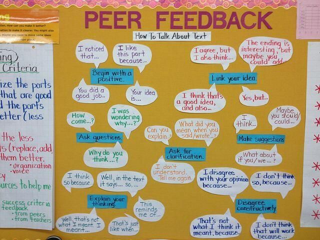 Improving Classroom Culture: 5 Ideas for Implementing Peer Feedback — Medium