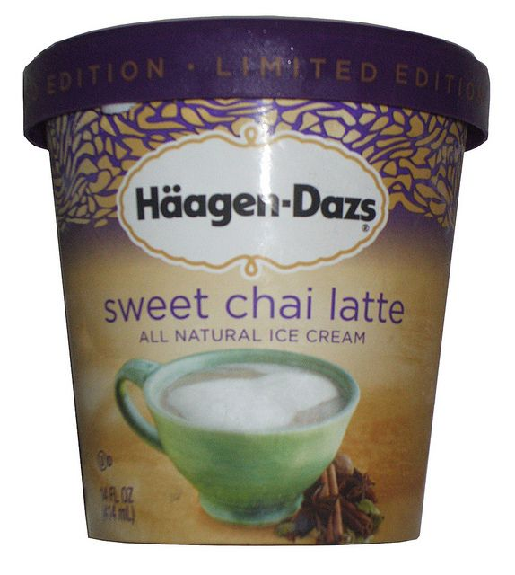 my favorite kind of ice cream: Haagen Dazs Sweet Chai Latte! unfortunately it was limited edition... hope it comes back!