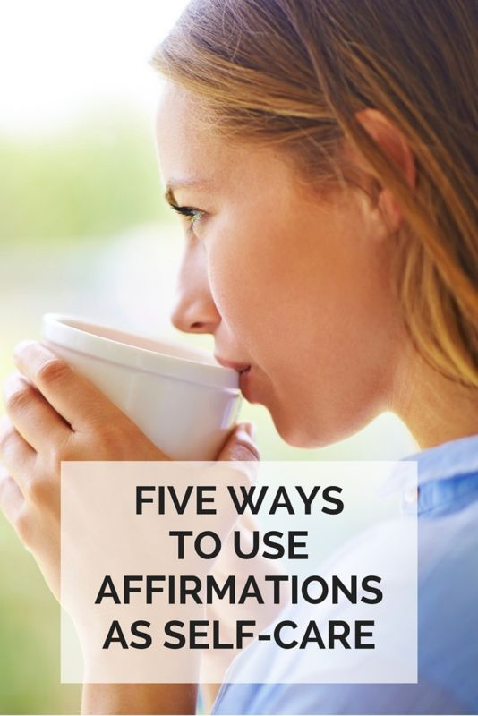 5 Ways to Use Affirmations as a Self-Care Tool | eBay