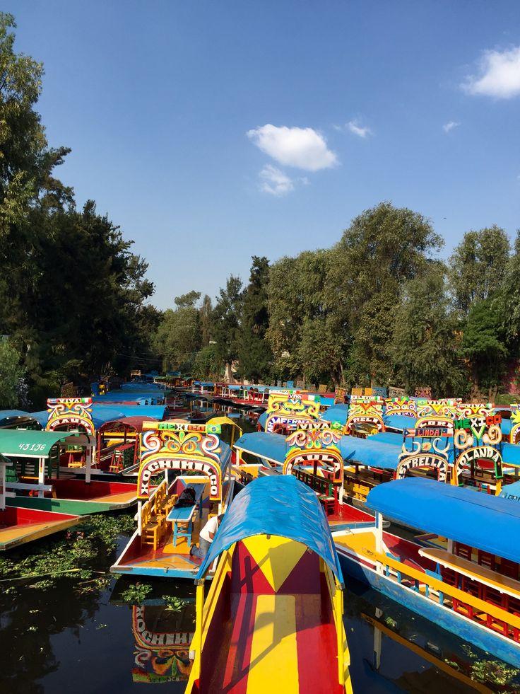 Trajineras à Xochimilco - Mexico DF - Le Bocal de Kloma