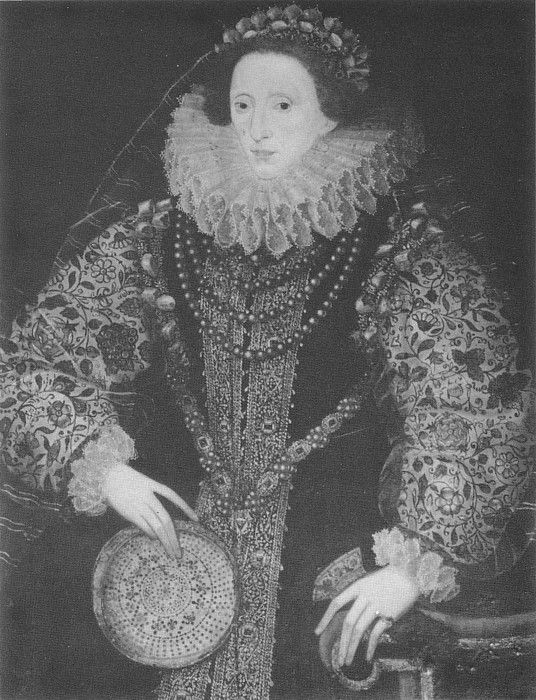 Attributed to John Bettes the Younger.  c. 1585.  Madresfield Court Collection.