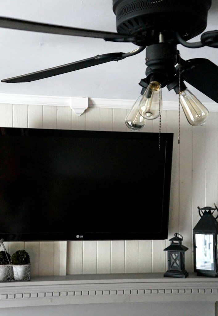 Easy way to make ceiling fans look better