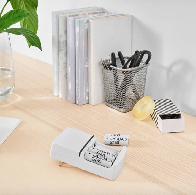 Ikea Will Stop Selling Non Rechargeable Batteries To Reduce Global Waste Battery Charger Rechargeable Batteries Charger