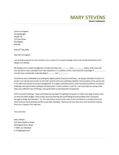 Best 25+ Project manager cover letter ideas on Pinterest - Simple Sample Cover Letter For Resume