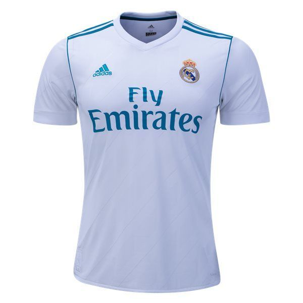 Adidas Real Madrid Home Jersey 17/18 (White)