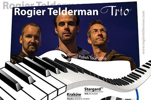 Rogier Telderman został wybrany przez Stowarzyszenie Dutch Jazzbookers za najbardziej obiecującego artystę jazzowego 2016. Również poza granicami Holandii słychać tego młodego muzyka coraz częściej. Rogier Telderman Trio przyjeżdża do Polski i będzie koncertować w najlepszych klubach jazzowych.